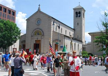 Annual Festa Italiana at Holy Rosary Church