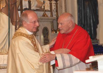Fr. Lydio Tomasi, Cardinal Theodore McCarrick
