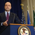 Italy's Minister of Interior Angelino Alfano in Washington