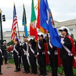 Columbus Day Ceremony At Christopher Columbus Memorial Plaza