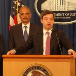 Italian Justice Minister Andrea Orlando Meets With U.S. Attorney General Eric Holder