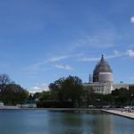 U.S. Capitol Under Construction