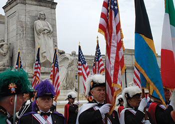Columbus Day Ceremony in Washington, DC