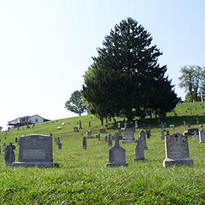 The Mt. Calvary Cemetery