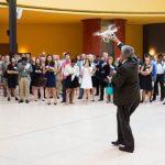 L'uso dei droni in campo civile: conferenza e dimostrazione all'Ambasciata d'Italia a Washington