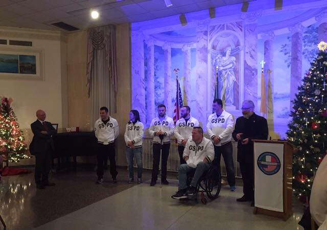 "The Italian ""Wounded Warriors"" at Casa Italiana Sociocultural Center in Washington DC"