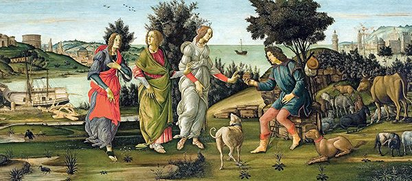 Botticelli and the Search for the Divine: Florentine Painting between the Medici and the Bonfires of the Vanities  at the Muscarelle Museum of Art until April 5