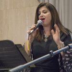 Anna Siciliano sings at Casa Italiana Cultural Center