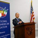 La National Italian-American Foundation rende omaggio insieme all'Ambasciatore d'Italia Armando Varricchio alla delegazione italo-americana in Congresso.