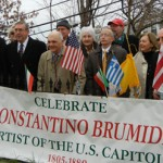 Constantino Brumidi, The Michelangelo of the Capitol Remembered in Washington DC Ceremonies