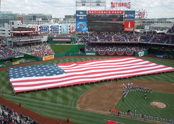 Nationals Opening Game