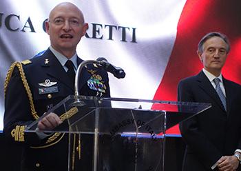 Gen Luca Goretti, Amb. Claudio Bisogniero