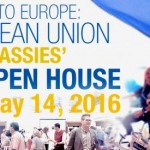 "Saturday, May 14: thousands expected at the Embassy of Italy for the EU ""Open House"""