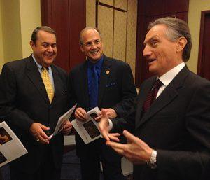 Mark Valente, Congressman Tom Marino, Ambassador Claudio Bisogniero