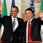 Nation's Capital Awaits Arrival of Italian Prime Minister Matteo Renzi