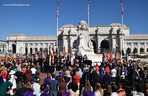The Columbus Day Ceremony