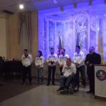 Italian Wounded Warriors visit the United States