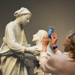 Photographing Della Robbia at the National Gallery of Art