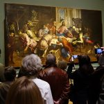 Watching Tintoretto at the National Gallery of Art