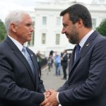 Deputy Prime Minister and Minister of Interior, Sen. Matteo Salvini in Washington